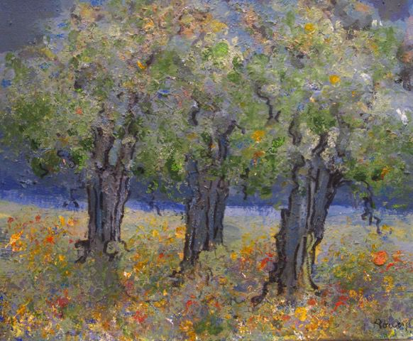 Karen Bowers: Blue Oaks